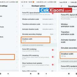 Mengubah DPI di Smartphone Xiaomi